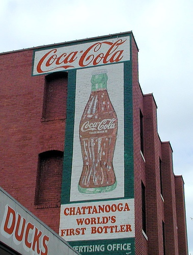 Chattanooga is the site of the World's First Coca-Cola Bottling Company. by Robert Lz, via Flickr