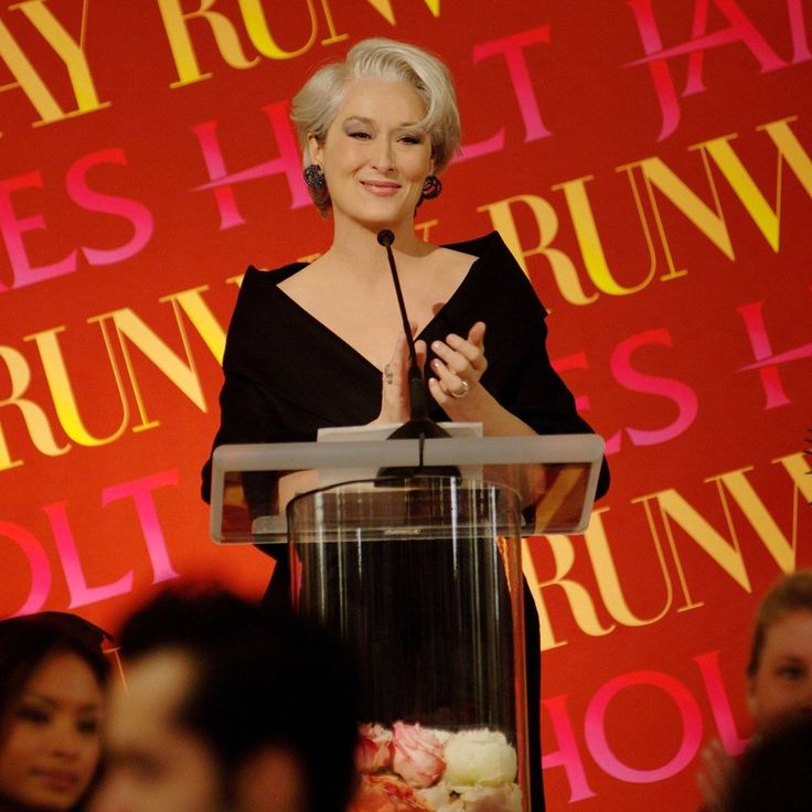 #MerylStreep as #MirandaPriestly;  #2006 #TheDevilWearsPrada; #ProductionStill; 900x900px