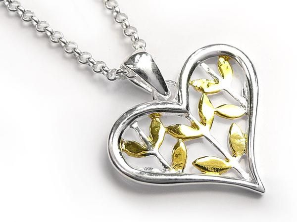 Silver Pendant - Seeds of Love