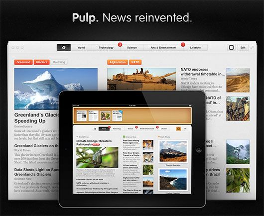 Well Presentable eNews - Pulp Mac App