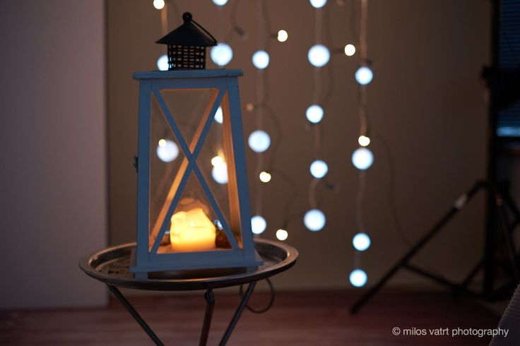 lantern / light bulbs / photo decoration  / miloš vatrt photography / studio  / my studio decorations