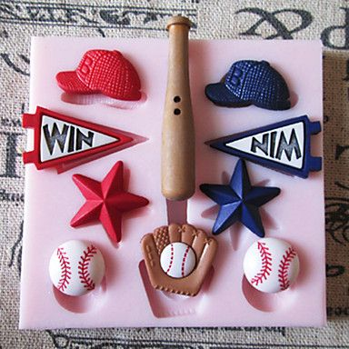 Is your kid in the baseball team? Then bake some of these cute baseball cookies with these molds, here's how to recipe.