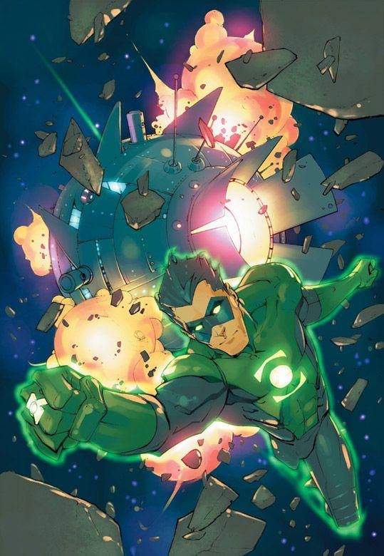 Green Lantern by Keron Grant
