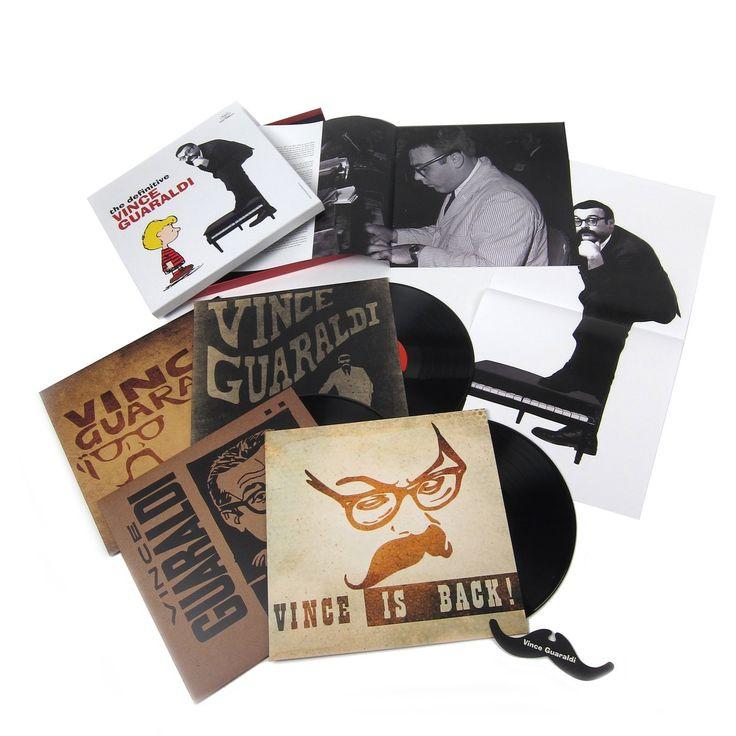 Vince Guaraldi: The Definitive Vince Guaraldi (180g) Vinyl 4LP Boxset