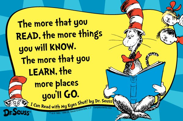dr. seuss quotes reading | ... they are quotes that every self respecting seussofile should know