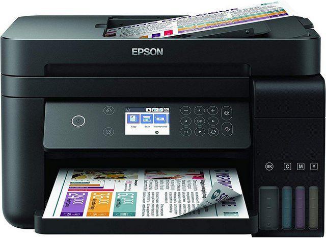 Ecotank Et 3750 Unlimited Ein Schneller 3 In 1 Multifunktionsdrucker In 2020 Usb Drucken Und Tintenstrahldrucker