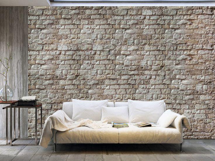 Tapeten - Vlies fototapete XXL 400x280 Ziegel f-A-0004-a-b - ein Designerstück von design4art bei DaWanda #wallpaper #mur #art #design #brick