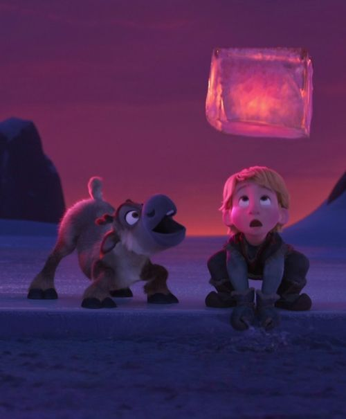 Disney Frozen Sven and Kristoff