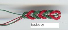 tutorial-Tatted False Plait with Beads by Gina Brummet
