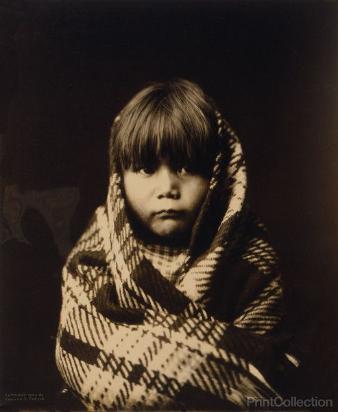 PrintCollection - Navajo Child