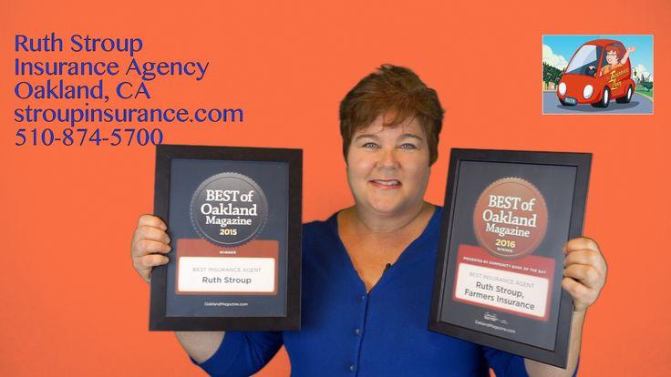 2016 BEST OF OAKLAND AWARD WINNER! Awarded Best Insurance Agent in Oakland by Oakland Mag. 2016!