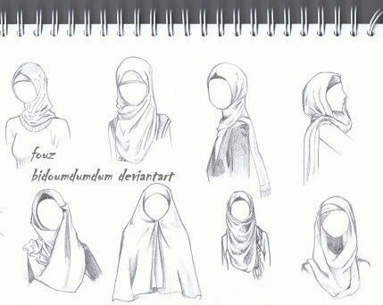 drawing a hijab - Google Search