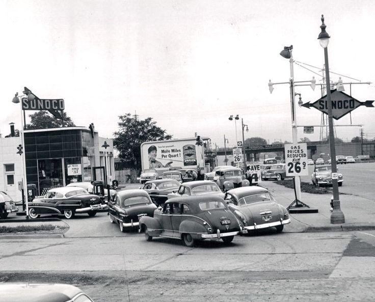 Detroit Gas Prices >> Gas Prices In Detroit Mi Circa 1953 Vintage Gas Prices Gas