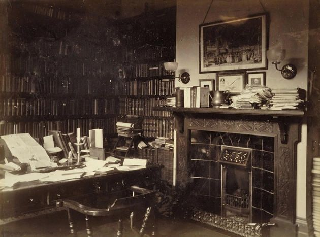 61 best study rooms of famous people vintage images on for Best study room images