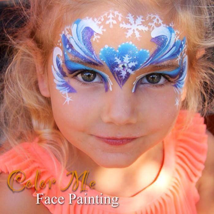 Frozen Face Painting/Makeup - Color Me Face Painting
