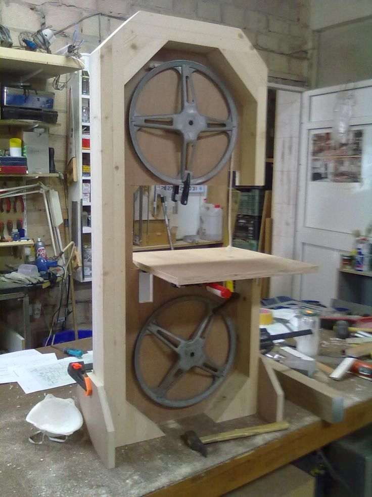 Sierra de banda casera para cortar madera ideas - Herramientas para cortar madera ...