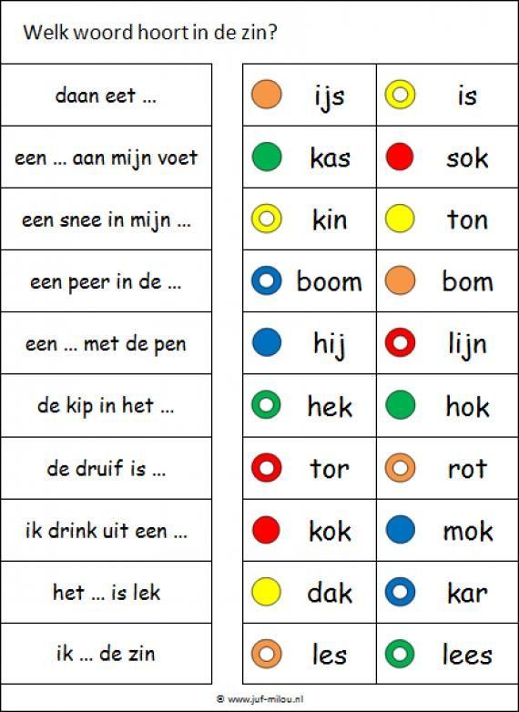 Deze knijpkaart en nog veel meer in de categorie taal kun je downloaden op de website van Juf Milou.