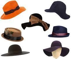 Resultado de imagen de sombreros de mujer