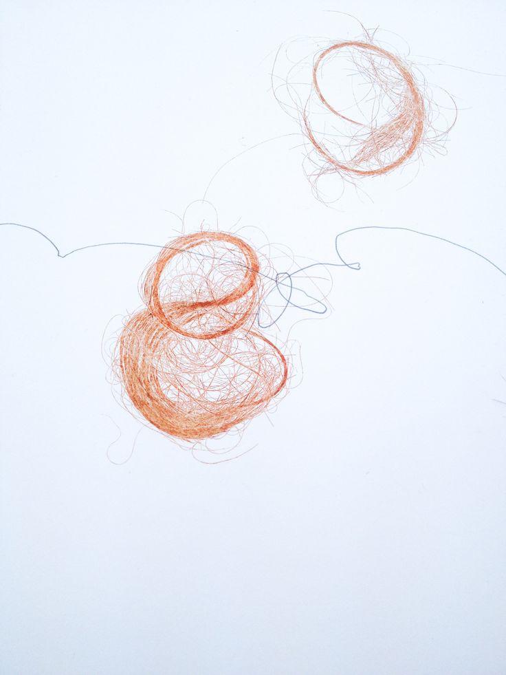 Anneliese Hough (2014) Detail of a work in progress.