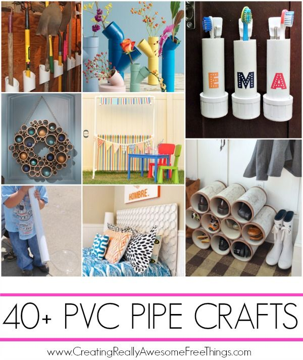 40+ really awesome PVC Pipe projects that anyone can do!