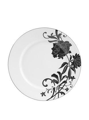 64% OFF Mikasa Cocoa Blossom Accent Plate, White/Dark Brown Peony