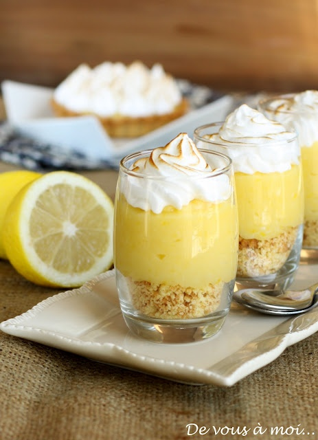 #recette : tarte au citron meringuée... revisitée !