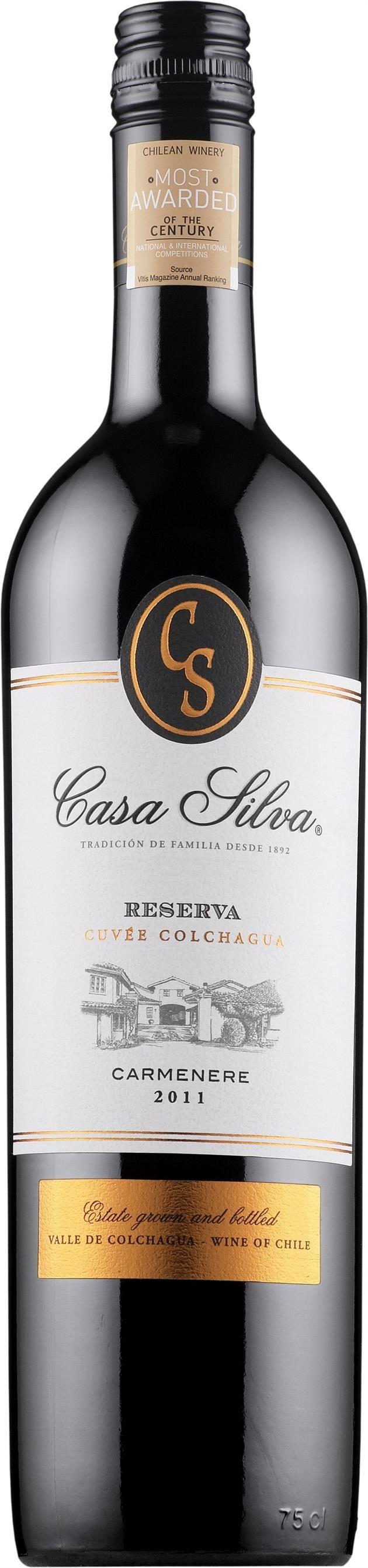 Casa Silva Carmenère Reserva 2013