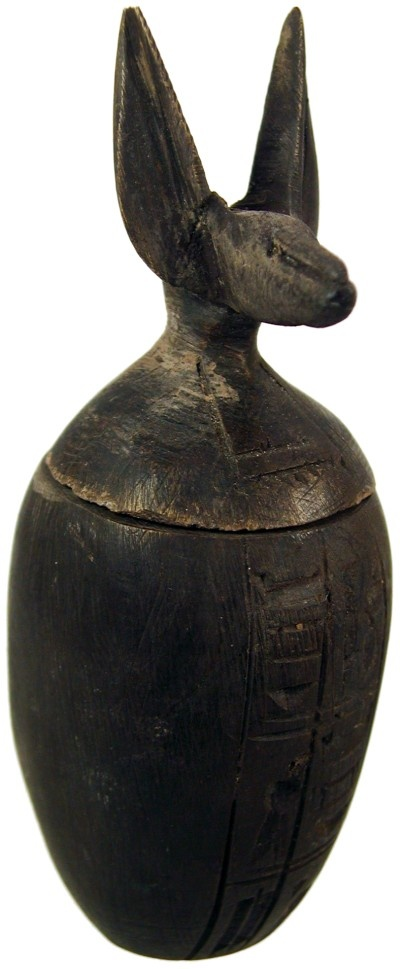 Ancient Egyptian artifacts Canopic Jar 525 BC