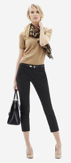 Best 25  Black capri outfits ideas on Pinterest | White capri ...