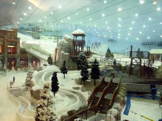 Dubai indoor ski hill #Skiing -- Find articles on adventure travel, outdoor pursuits, and extreme sports at http://adventurebods.com