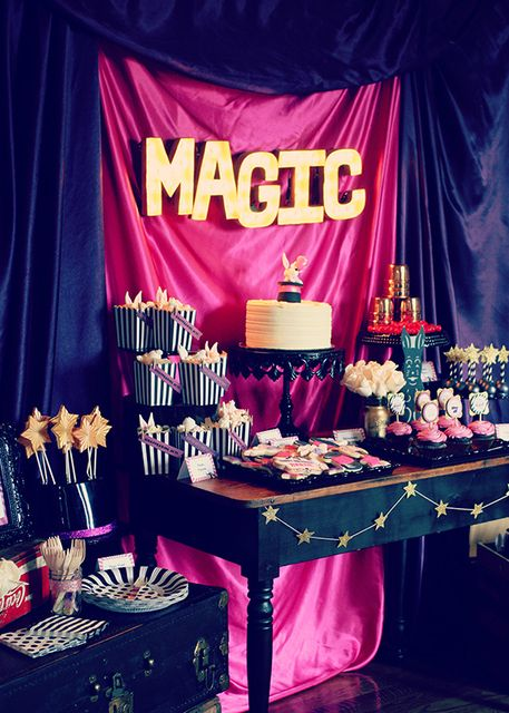 """Birthday """"Vintage Magic Party""""   Catch My Party"""