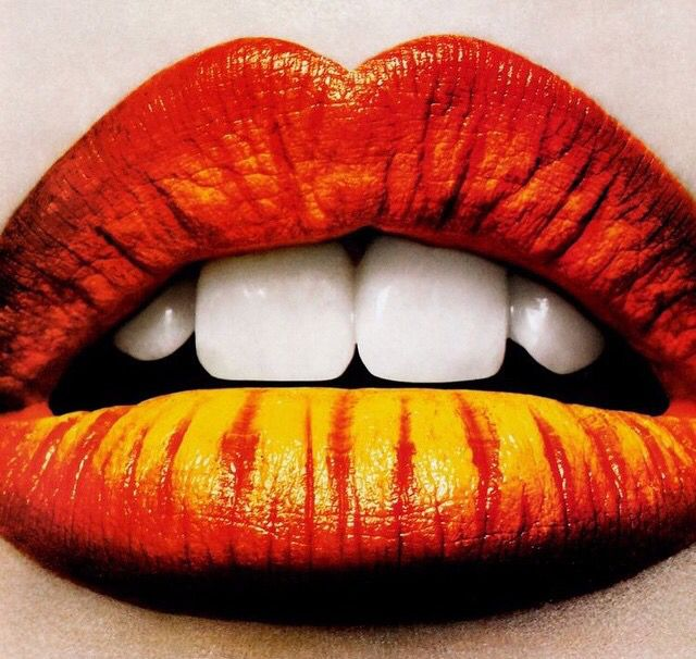 уложил оранжевые губы картинки проводятся