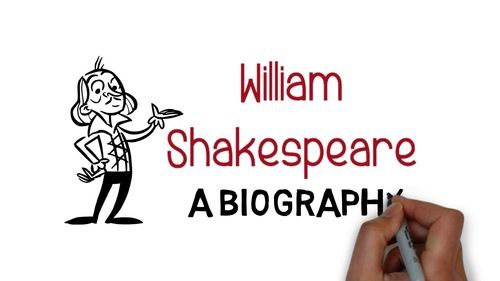 This whiteboard video is a three minute biography of Shakespeare that can be used to introduce any Shakespeare unit in a fun and engaging way. Perfect for the start of any Shakespeare unit.