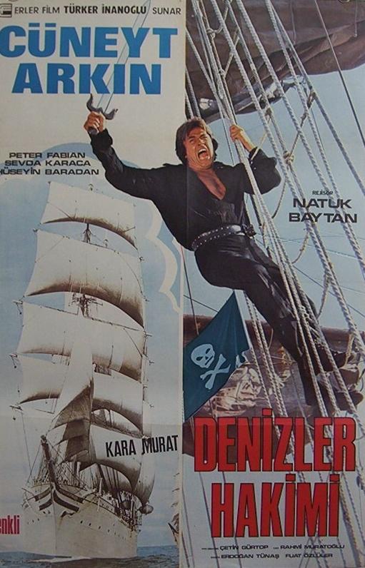 Kara Murat Denizler Hakimi; Cüneyt Arkın...  Arayıp da bulamadığınız tüm orijinal film afişleri için bize ulaşmanız yeterli...