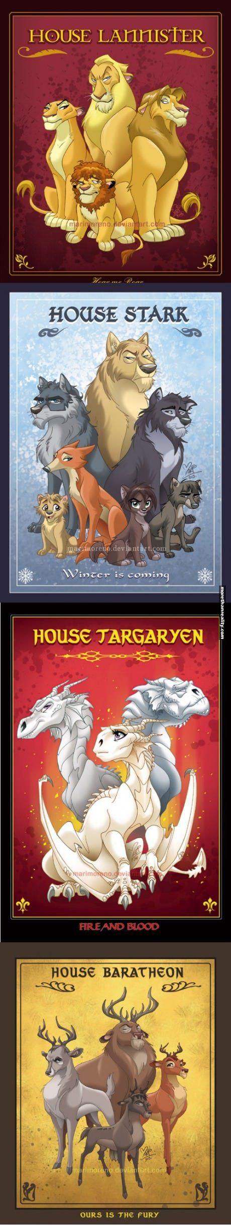 Game of Thrones Disney version