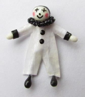 Make a Miniature Pierrot Doll for your Dolls House Nursery | Features | Collectors Club of Great Britain