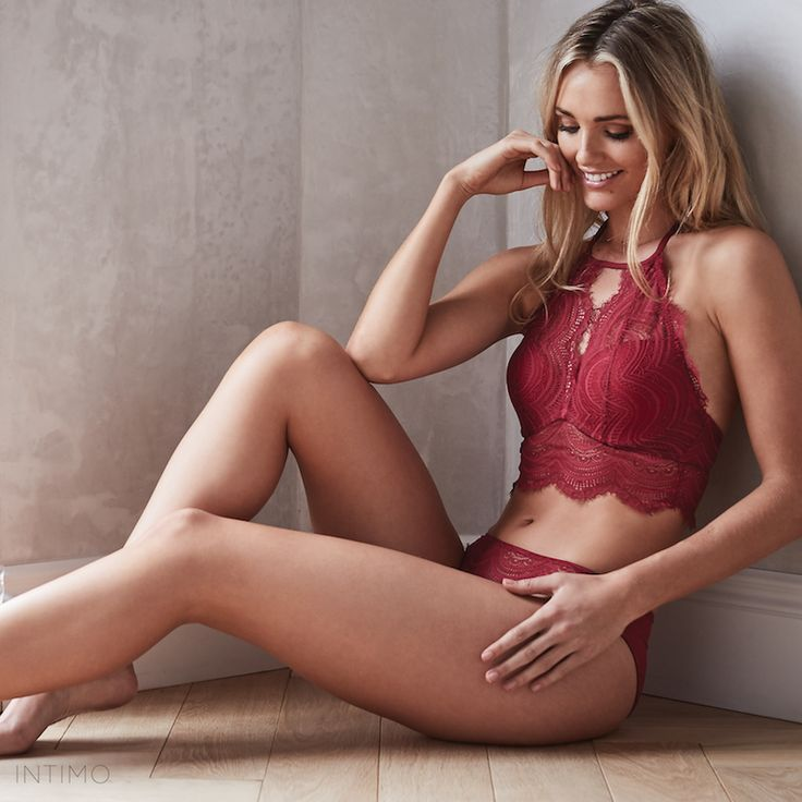 March New Arrival // Get the Indiana High Neck Contour Bra and create the ultimate peek a boo moment.
