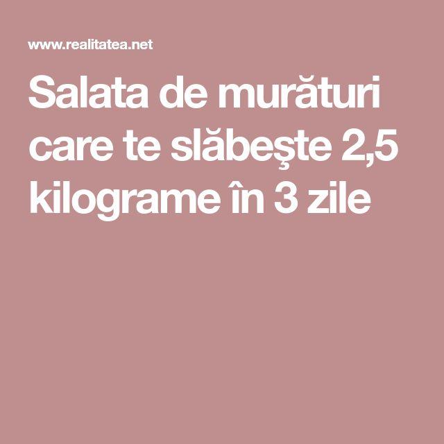 Salata de murături care te slăbeşte 2,5 kilograme în 3 zile