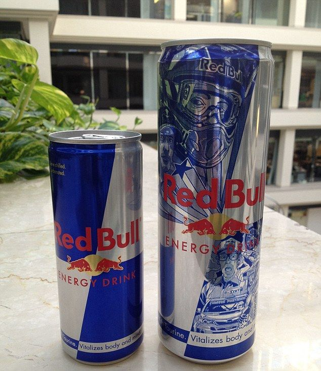 red bull gives you bingo wings super sized can of energy drink contains a staggering 13. Black Bedroom Furniture Sets. Home Design Ideas
