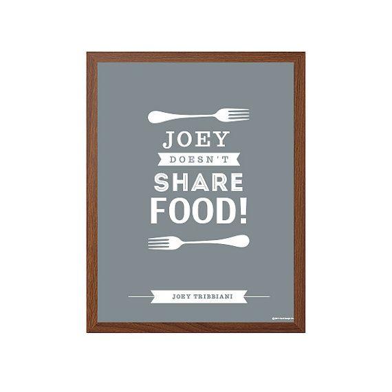 ▲ Joey teilt sein Essen nicht  High-Larious Moment in der Freunde