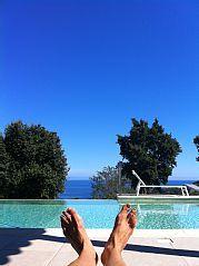VILLA PISCINE PRIVEE - 5 CHAMBRES – VUE MER  - PLAGE A PIEDLocation de vacances � partir de Favone @homeaway! #vacation #rental #travel #homeaway
