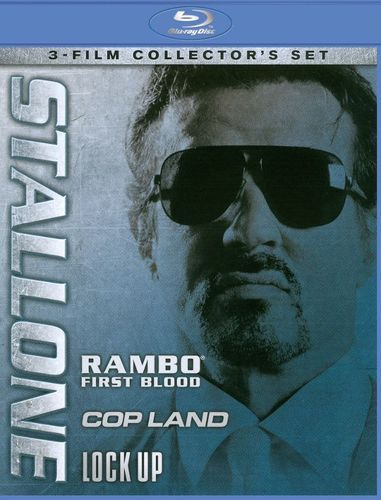 Stallone: Rambo - First Blood/Cop Land/Lock Up [3 Discs] [Blu-ray]