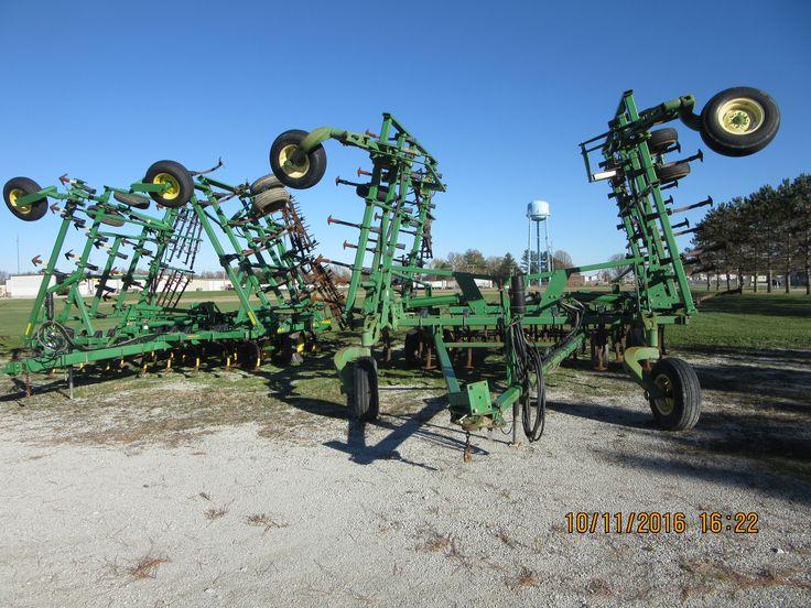 Pair of John Deere 2210 field cultivators
