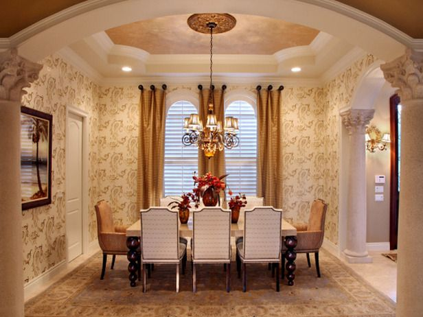 Fall Color Trends. Dining Room DesignElegant Dining RoomFormal ...