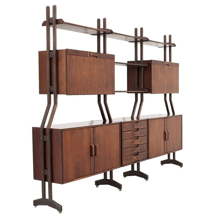 Check out the deal on Unusual Italian Wall/shelving system in the manner of Franco Albini at Eco First Art