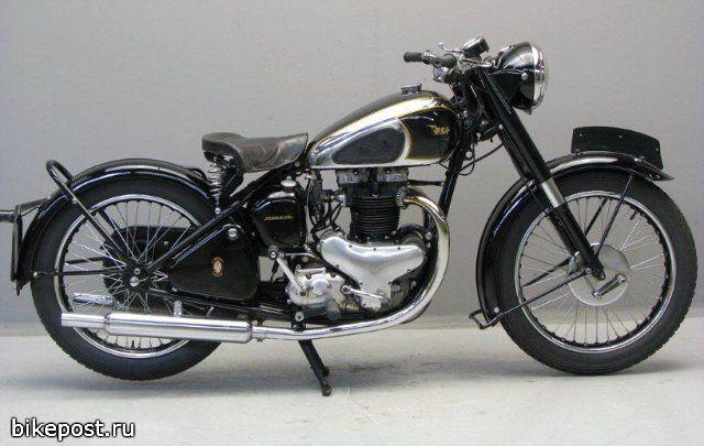 Motocikl Bsa A7 1948 Classic Motorcycles Classic Bikes Vintage Bikes