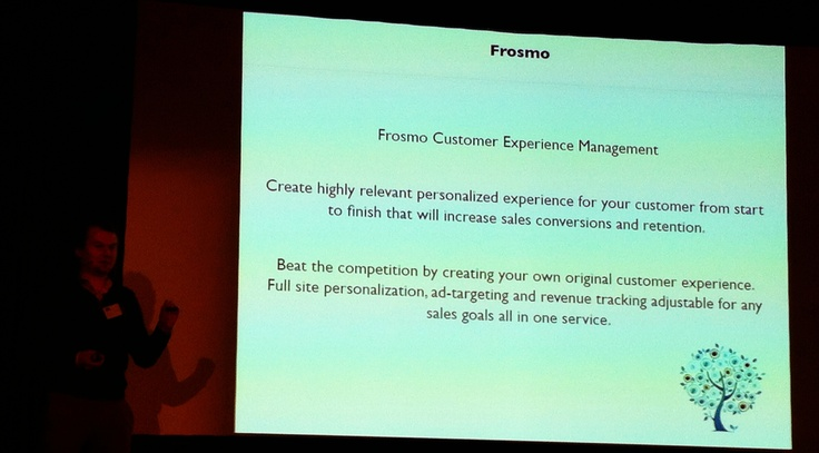 Frosmo (a Finnish company)  @ 29.11.2012 IAB Finlands seminar HOT or NOT