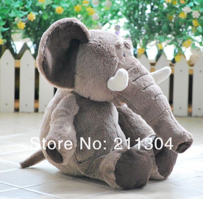 Размер M - ni прекрасный Elephant наполненный плюш игрушки 35 см Elephant кукла дети ci день рождения подарок