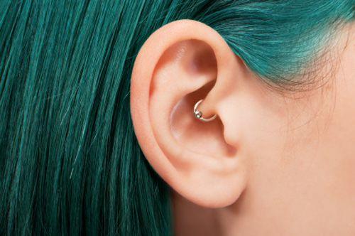 daith ear cartilage piercings