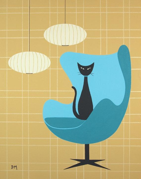 190 best CAT ART images on Pinterest | Cat art, Cat ...